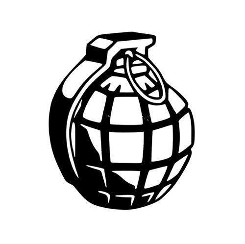 (5p)12 * 15 CM Hand Auto Aufkleber Explosive Ordnance Motorrad Dekorative Auto Aufkleber Und Abziehbilder Oem Auto Aufkleber -