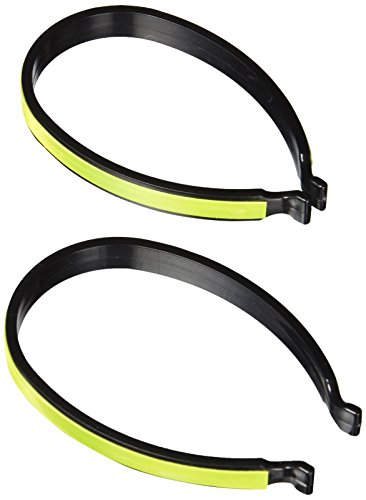 Silverline 521812 Reflective Hi-Vis Cycling Trouser Clips Pair