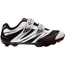 Northwave paire de chaussures spike pro blanc noir t37 p79