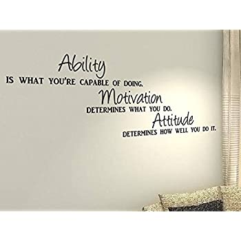 Ability Is What Youu0027re Capable Of Doing...   Workout Sport Fitness