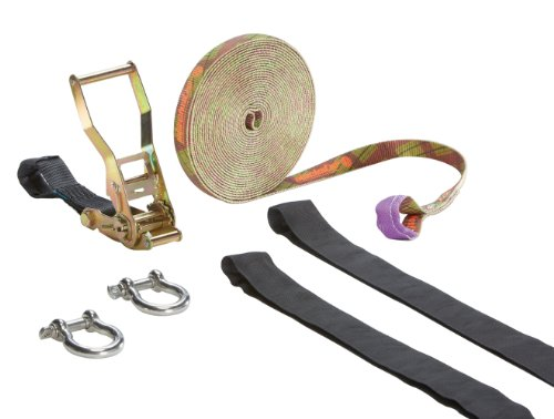 Slackstar Slackline-Set SL81799-10-TT, 10 m lang,  2,5 cm breit