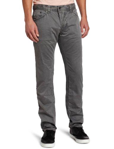 Diesel Darron-A 00RST Herren Jeans Hose Regular Slim Grau Grau