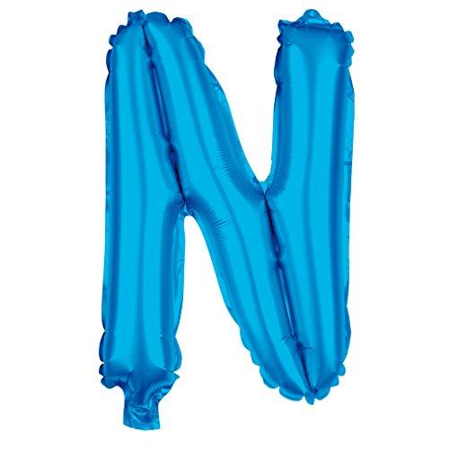 be XXL Blau 80cm Party Helium Luftballons Geburtstag Deko (Blau_N) ()