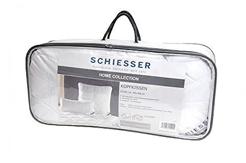 Schiesser ganzjahres Kopfkissen 40 x 80 cm / Allergiker geeignet / verschiedene Größen
