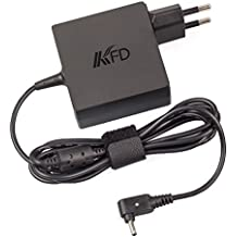 KFD AC DC Chargeur Alimentation pour Asus VivoBook F201E Q200E S200E S220 X200T X201E X202E X102 F102 X200 X201 X202e F201 F202 Zenbook Prime Transformer Book Chromebook C200 C200M C200MA C300 C300MA E402MA E402SA ASUS X540LA X553SA X553M Adaptateur Secteur Compatible ADP-33AW, ADP-33AW A ADP-40MH ADP-40TH A EXA1206CH EXA1206EH EXA1206UH ordinateur portable 33W 45W -4,0*1,35MM
