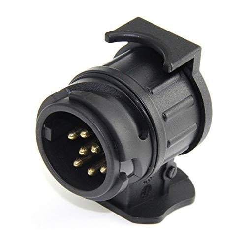 Preisvergleich Produktbild Swiftswan 13 Pin wiederum 7 Pin Steckdose Autokabel Stecker Wasserdichte Anhänger Signalleuchte Auto Abschlepp Conversion Adapter