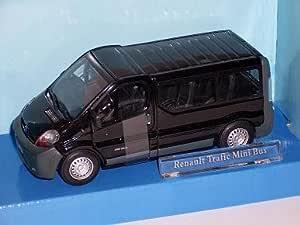 Renault Trafic Traffic Schwarz Baugleich Mit Opel Vivaro 1 43 Cararama Modellauto Modell Auto Spielzeug