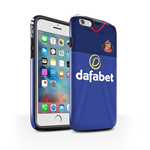 Offiziell Sunderland AFC Hülle / Glanz Harten Stoßfest Case für Apple iPhone 6S+/Plus / Pack 24pcs Muster / SAFC Trikot Home 15/16 Kollektion Torwart
