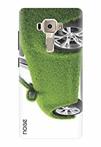 Noise Designer Printed Case / Cover for Asus Zenfone 3 ZE552KL With 5.5 Inches Screen / Automobiles / Go green Design