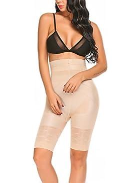 Qulista Faja Pantalón Cintura Alta Pantalones Adelgazantes Moldeador con Efecto Anti-Celulitis Push-up Sauna y...