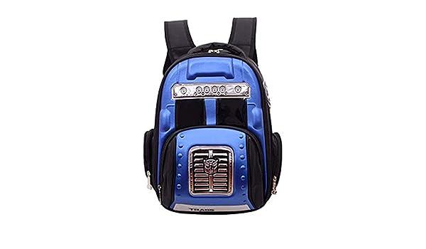 73e1f5905d Yzibei Sacchetto di scuola primaria impermeabile zaino luminoso 3D luce Il miglior  regalo per ragazzi scuola borse per bambini 1-3-6 grado duro Shell Car ...