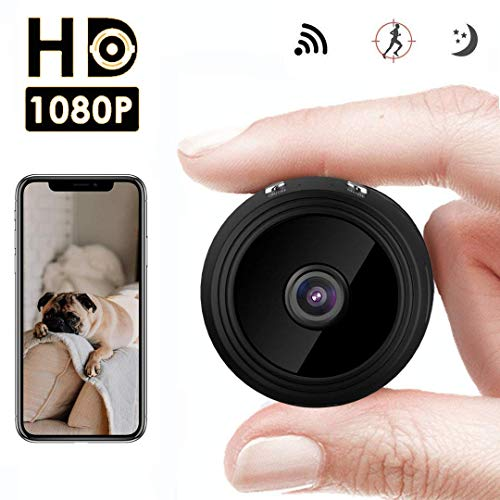 Mini Kamera WiFi Kamera HD 1080P Mini Überwachungskamera Jslai IP Record Kamera 150 Grad Weitwinkel Home Security Überwachungskameras Motion Detection und Nachtsicht für iPhone Android iPad PC