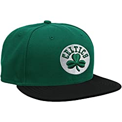 New Era Nba Basic Boston Celtics - Gorra para hombre, color verde, talla 7 5/8