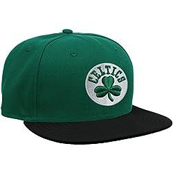 New Era Nba Basic Boston Celtics - Gorra para hombre, color verde, talla 7 0/0