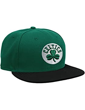 New Era Nba Basic Boston Celtics - Gorra para hombre, color verde, talla 7 0/0