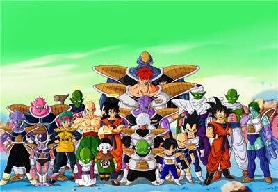 XWArtpic Anime japonés clásico Dragon Ball Z Personaje