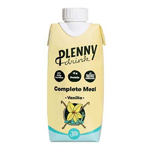 Jimmy Joy Plenny Drink Vanilla - Trinknahrung - Flüssignahrung - Flüssige Nahrung - Trinkmahlzeit - Hochkalorische Astronautennahrung - Astronautenkost - 330ml - 8 Stück