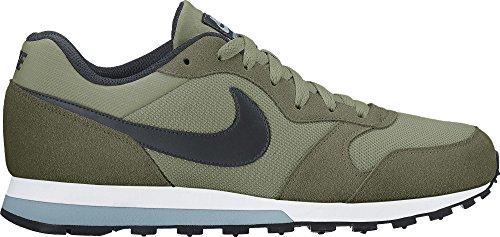 Nike MD Runner 2, Scarpe da Ginnastica Uomo Multicolore (Verde/Negro/Legion Green/Black/Palm Green/Mica Blue)