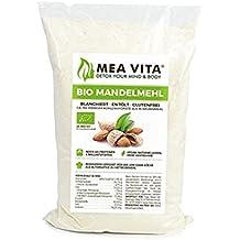 MeaVita Bio Mandelmehl, entölt, blanchiert, 1er Pack (1 x 1000g)