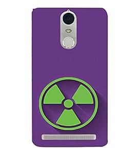 EPICCASE Radiation Logo Mobile Back Case Cover For Lenovo K5 Note (Designer Case)