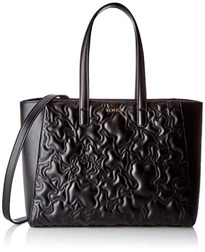 Tous K Capitone, Bolso de mano para Mujer, (Negro 695900285), 33.5x26x14.5 cm (W x H x L)