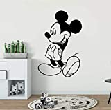 stickers muraux enfants garcon Kids Room Decor Mickey Mouse Sticker Mural Personnage...
