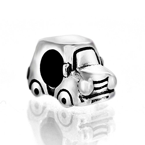Pandora Charme Auto (Wagon Auto Bead 925Sterling Silber Passend für Pandora Charme Armband)