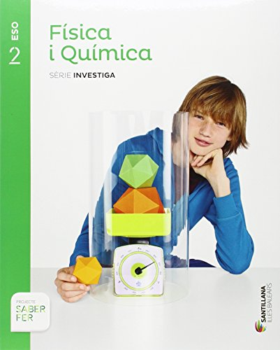FISICA I QUIMICA SERIE INVENTESTIGA 2 ESO SABER FER - 9788468093970