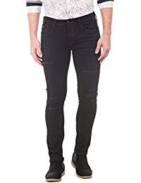 F2000 By Flying Machine Men's Tapered Fit Jeans