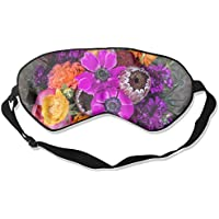 FLOWER 99% Eyeshade Blinders Sleeping Eye Patch Eye Mask Blindfold For Travel Insomnia Meditation preisvergleich bei billige-tabletten.eu