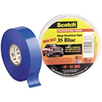 3M Company Electrical Tape, Blue Vinyl, Professional