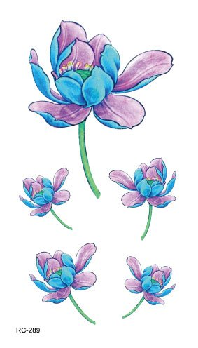 stickers-de-tatouage-temporaire-non-permanent-pour-lart-corporel-fleur-rc2289-temporary-tattoo-body-