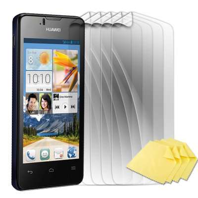 numia [5er Pack] Bildschirmschutzfolie kompatibel mit Huawei Ascend Y300 Folie Ascend Y300 Schutzfolie Klar
