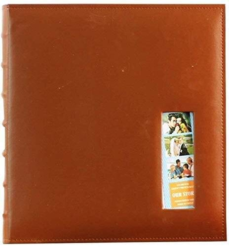 AMAZACER Fotoalben Fotoalbum PU Interstitial Album Mixed Album große Kapazitäts-620 for Familie Baby-Geschäfts-Album Fotos Tourismus (Farbe: B) (Color : B)