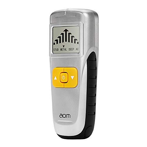 Ortungsgerät 3 in 1 Multifunktions Wand Scanner Detektor Leitungssucher mit Großer LCD Bildschirm und Signalanzeige für AC Draht Holz und Metall (SL-0)