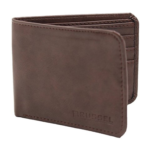 BRUSSEL : Brown Men Leather Formal and Casual Wallet