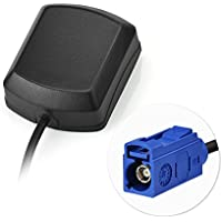 Eightwood GPS Antenne Fakra C mit 3m Fakra Verlängerung für Auto DVR GPS Modul Tracking Antenne GPS Navigation System GPS Receivers