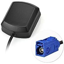 "Eightwood Antena de GPS Fakra ""C"" con antena de 3 m GPS Fakra Adapter para coche DVR Módulo de GPS Antena de seguimiento Sistema de navegación GPS Receptores GPS"