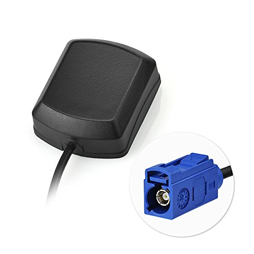 Eightwood GPS Antenne Fakra C mit 3m Fakra Verlängerung für Auto DVR GPS Modul Tracking Antenne GPS Navigation System GPS Receivers MEHRWEG