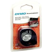 DYMO LetraTAG Metallic tape cinta para impresora de etiquetas - Cintas para impresoras de etiquetas (Poliéster, Ampolla, 4 m, 24 mm, 94 mm, 146 mm)