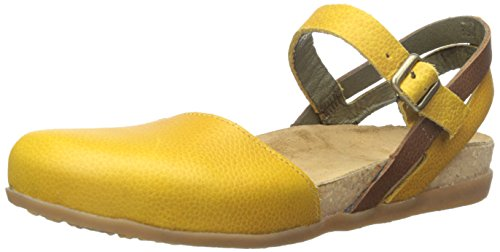 EL NATURALISTA NF41 ZUMAIA giallo grain corn sandali donna cinturino punta chiusa Giallo