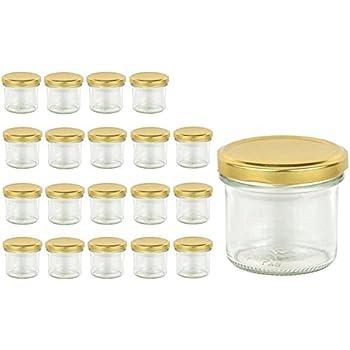 20 sturzgl ser 125 ml marmeladengl ser einmachgl ser einweckgl ser to 66 gold k che. Black Bedroom Furniture Sets. Home Design Ideas