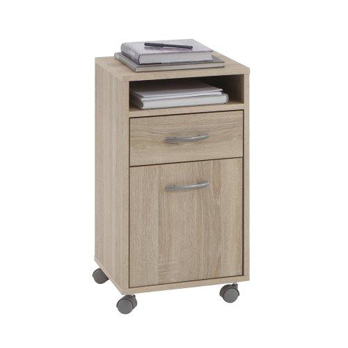 FMD-Mbel-350-002-Comodino-con-rotelle-Felix-2-L-x-A-x-P-33-x-63-x-38-cm-in-legno-di-quercia