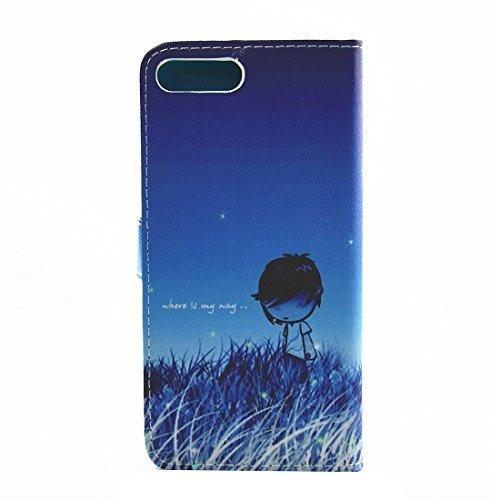 Hülle für iPhone 7 plus , Schutzhülle Für iPhone 7 Plus Malerei Eiffelturm Muster Horizontale Flip Leder Tasche mit Halter & Card Slots & Wallet ,hülle für iPhone 7 plus , case for iphone 7 plus ( SKU IP7P3639F
