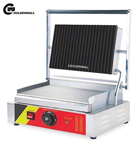 cgoldenwall np-592Gewerbliche Nutzung Panini Press Elektrische Sandwich Grill- und Panini Maker Sandwich Toaster Fleisch Grill - 220V