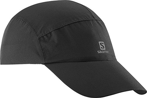Salomon Cap, wasserdichte Kappe, schwarz, Unisex, Einheitsgröße