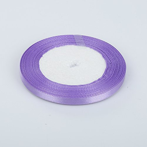 1 cinta satén doble cara colorida 6 mm lazos, manualidades