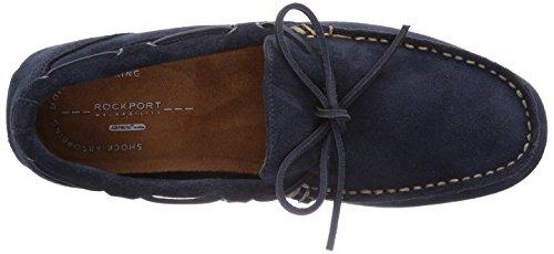Rockport  CLASSFLASH ONE EYE TIE, Mocassins pour homme Bleu - Blau (NEW DRESS BLUES SDE)