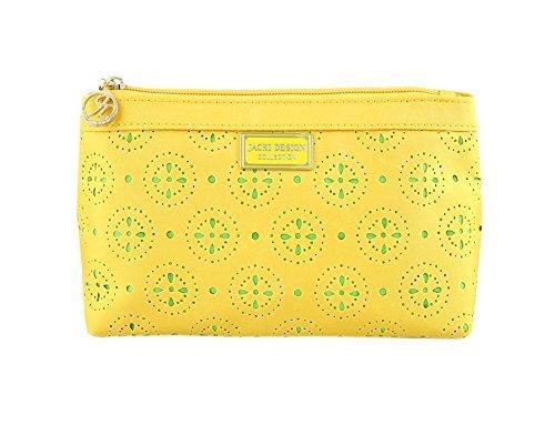 jacki-design-abc38018yl-cosmopolitan-flat-cosmetic-bag-yellow-by-jacki-design