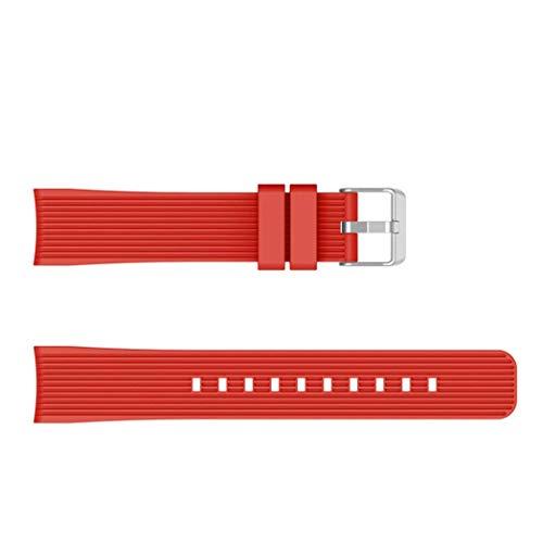 kimiLike Armband Kompatibel FüR Samsung Galaxy Watch Active 140Mm 210Mm, Vertical Stripes Silikon Wasserdichtes Verstellbares Uhrenarmband FüR Samsung Galaxy Watch Active Armband Samsung Stripe